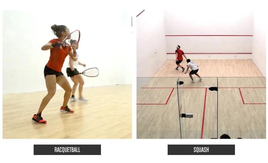 Squash Sport VS Racquetball